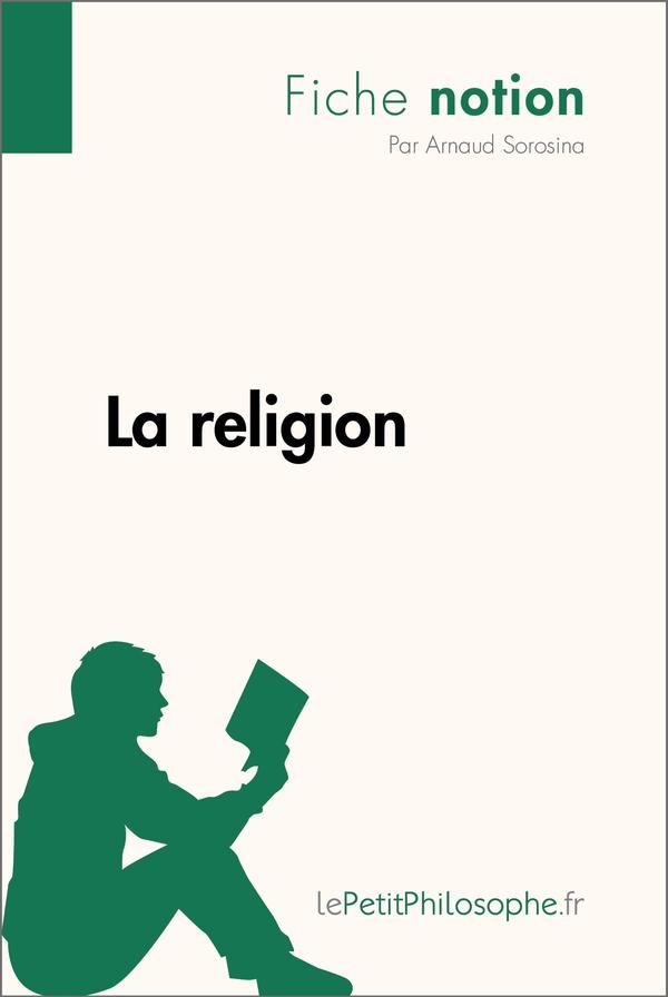 La religion (Fiche notion)