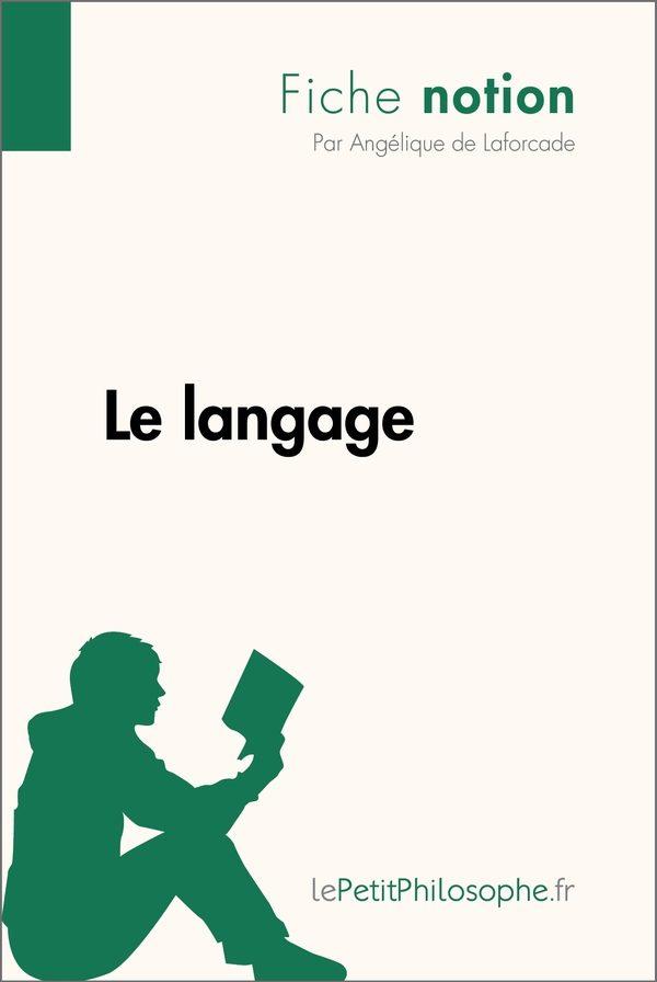 Le langage (Fiche notion)