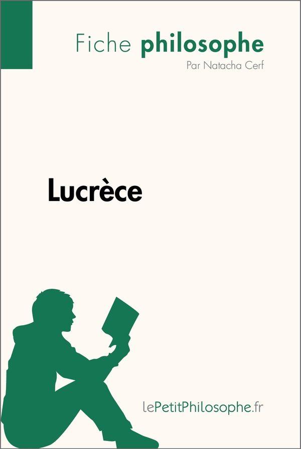 Lucrèce (Fiche philosophe)
